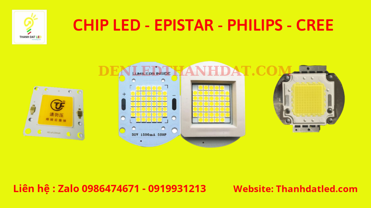 chip led epistar philips cree bridgelux nichia